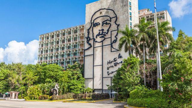 Monumento al 'Che' en La Habana.