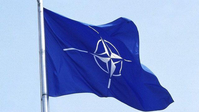 Nato flag, file pic