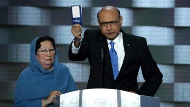 इराक की जंग में मारे गए पाकिस्तानी-मूल के फ़ौजी कैप्टन हुमायूं ख़ान के पिता खिज़्र ख़ान ने
