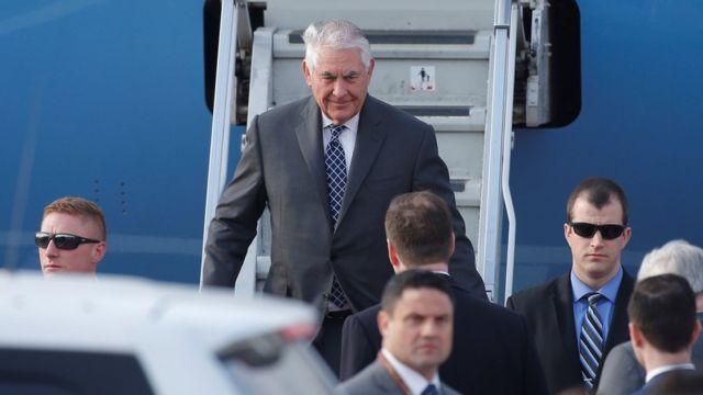 ABD Dışişleri Bakanı Tillerson