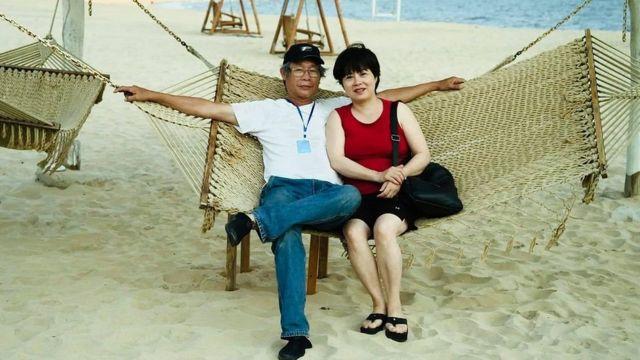 Vợ chồng bà Nguyễn Thúy Hạnh