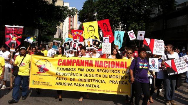 Protesto do Mães de Maio
