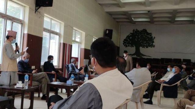 कांग्रेस केन्द्रीय समितिको बैठक