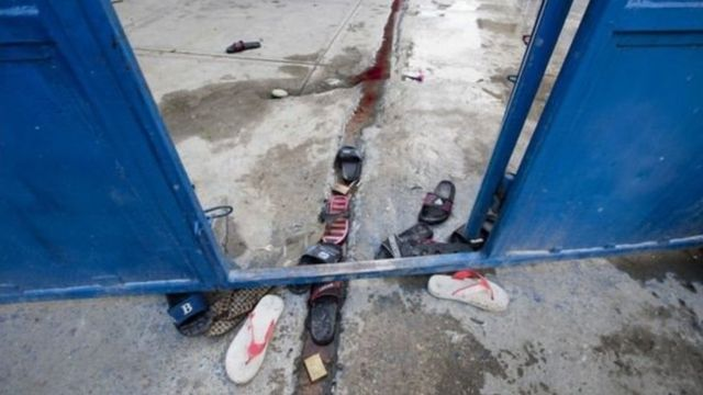 हेती जेल में गोलीबारी, एक कैदी और एक गार्ड की मौत.