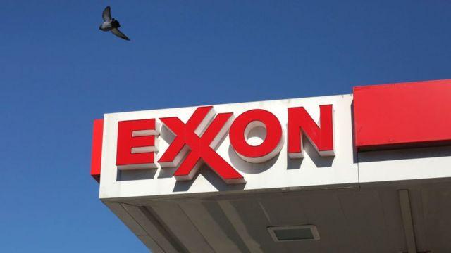 Logo de Exxon