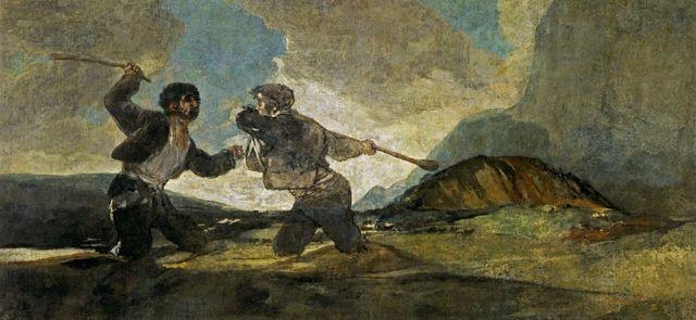 Pintura de Goya.