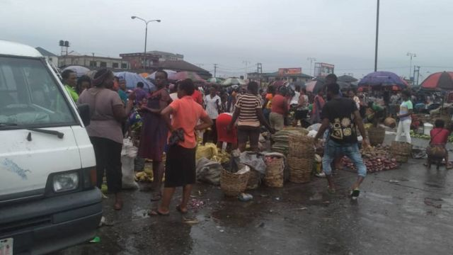 Explosion in Port Harcourt