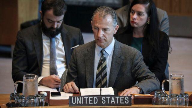جاناتان کوهن نماینده آمریکا در سازمان ملل