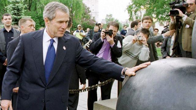 Джордж Буш в Кремле (24 мая 2002 г.)