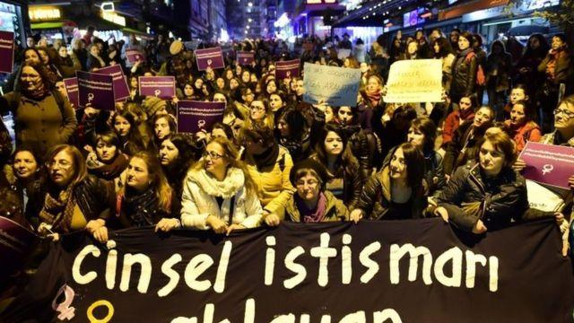 तुर्की में विरोध प्रदर्शन