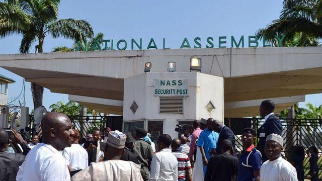 Kofar shiga majalisar dokokin Nigeria