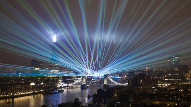 Light show in 2021