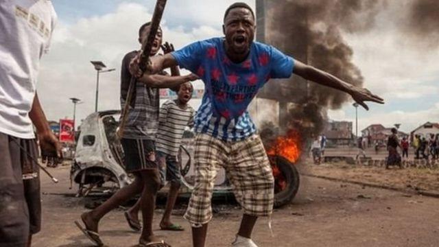 Un conflit sanglant ayant opposé les forces gouvernementales et la milice tribale a fait 400 morts, selon les Nations unies.Copyright de l'image