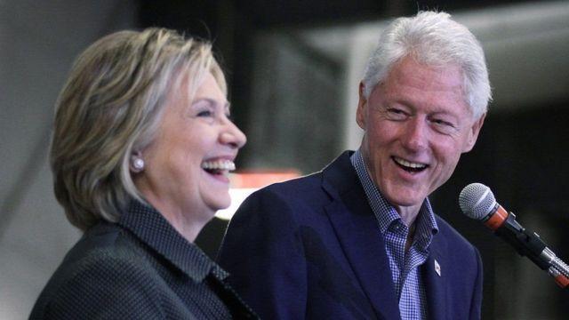 比尔·克林顿和希拉里·克林顿