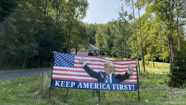 Cartel de Keep America Great
