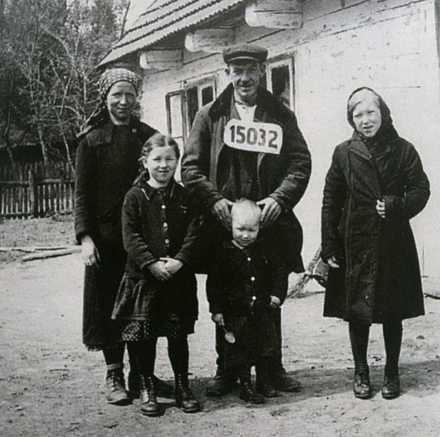 "Поселенці у ""Ватергау"". 1940р."