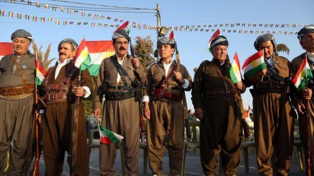 مؤيدون للاستقتاء في أربيل