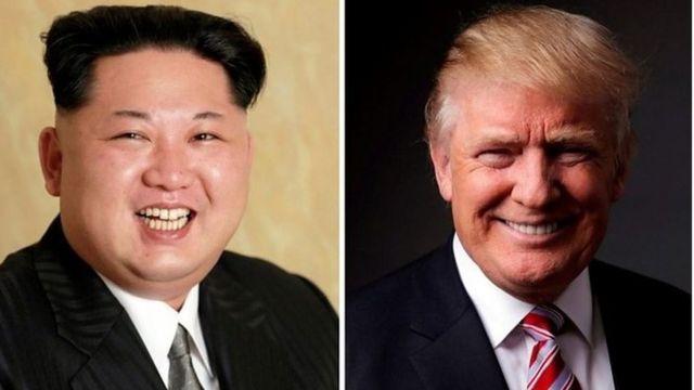 Kim (i buryo) na Trump basubiye kwemeza ko bazohura itariki 12 ukwezi kwa gatandatu i Singapour