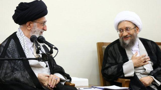 صادق لاریجانی و آیتالله خامنهای