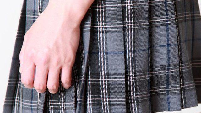 falda escolar