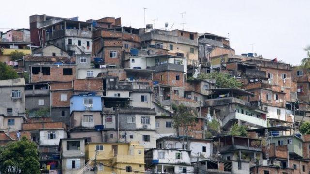 Favela carioca, em foto de arquivo