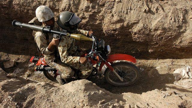 مانور نظامی ایران در جنوب شرقی ایران و مرز با پاکستان