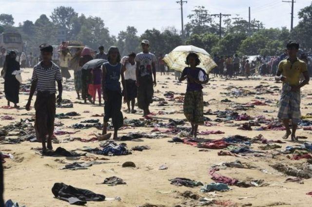 ينفي جيش ميانمار اتهامات بارتكاب أعمال وحشية ضد مسلمي الروهينجا