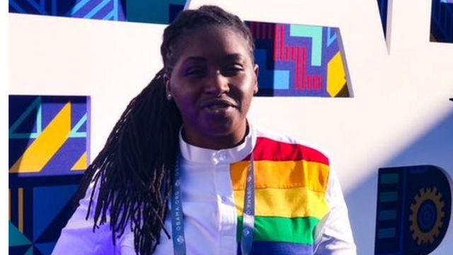 Pamela Adie na LGBT Rights activist.