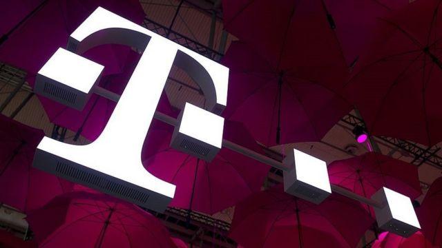 T-Mobile logo.