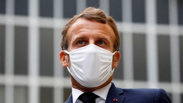 फ़्रांस के राष्ट्रपति इमैनुएल मैक्रों