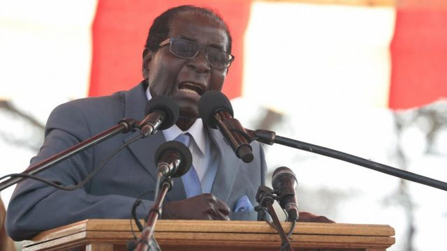 Robert Mugabe talk say di vice president dey free to carry im supporters go join another party.