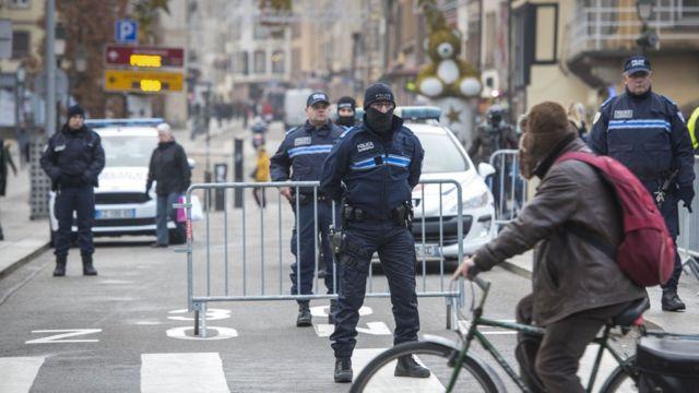Полиция Страсбурга