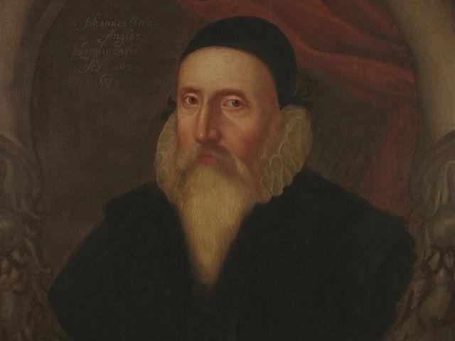 ภาพเหมือนของจอห์น ดี ซึ่งวาดขึ้นเมื่อปี 1594