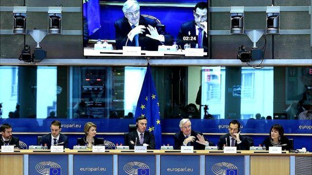 Poslanici u evropskom parlamentu