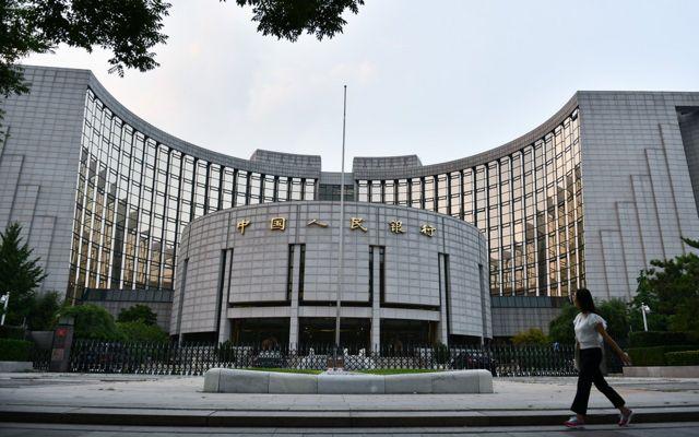 中國人民銀行是中國的中央銀行。