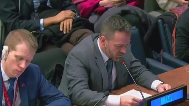diplomata brasileiro na ONU
