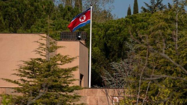 उत्तर कोरियाली दूतावास