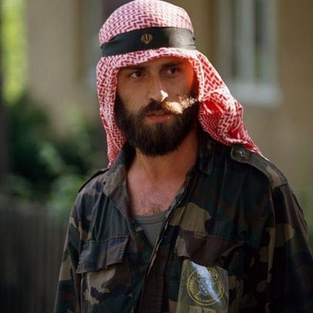 سرباز مسلمان بوسنیایی