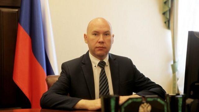 Помощник полпреда президента в УрФО Александр Воробьев