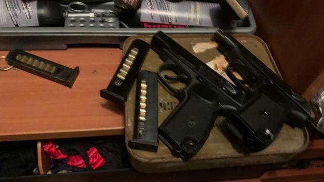 оружие в доме стрелка