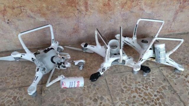 صور قدمها آوترباك لبي بي سي للطائرات المسيرة