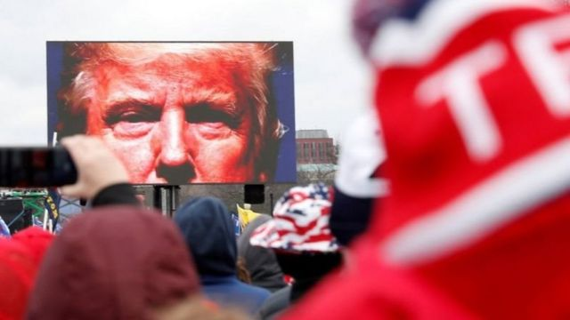 """特朗普弹劾案落幕 美国参议院否决, 特朗普:""""爱国运动才刚开始""""(photo:BBC)"""