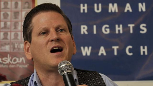Phil Robertson, Human Rights Watch