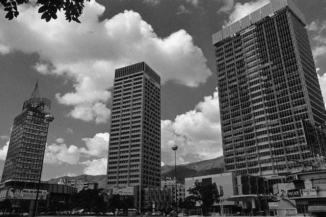 Edificios de Caracas en los 70