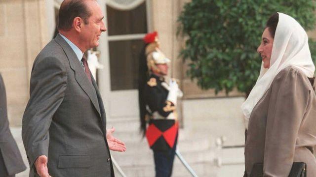 فارنس کے صدر ژاک شیراک