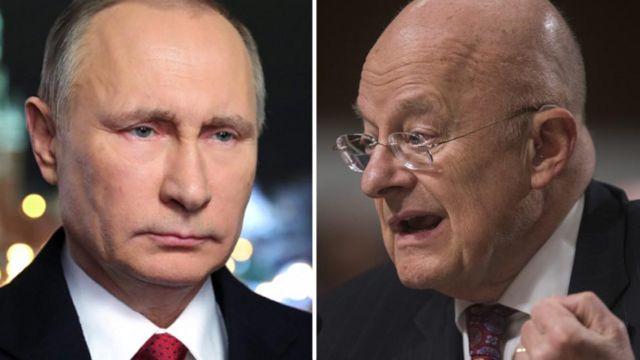Clapper na Putin