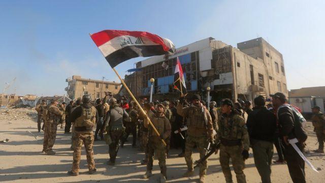 القوات العراقية في الرمادي