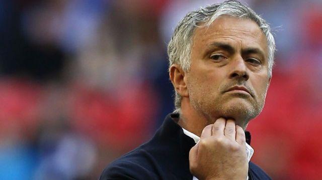 Meneja wa Manchester United Jose Mourinho