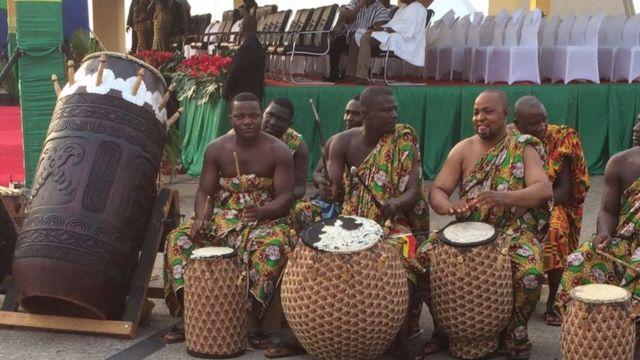 Dubban mutane ne suka halarci bikin rantsar da Nana Akufo-Addo