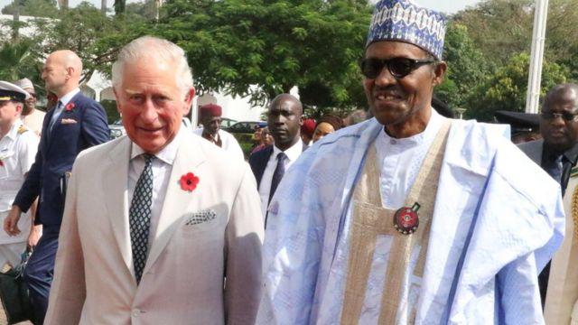 Aarẹ Buhari ati ọmọoba Charles